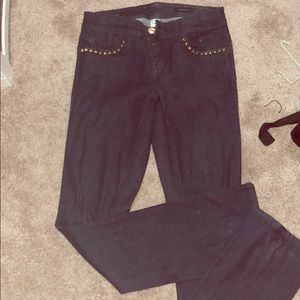 New Cache Slim Boot Jeans